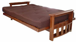 Futon sofa bed (open)